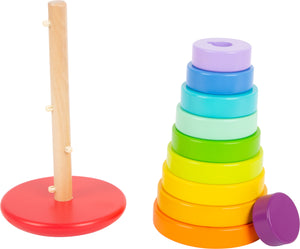Small Foot Rainbow Stacking Tower