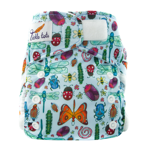 Tickle Tots 2's Nappy - Bugs - Smallkind