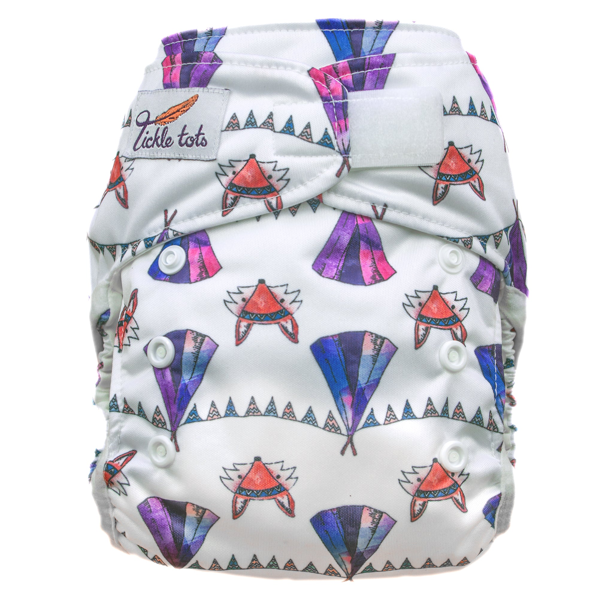 Tickle Tots 2's Nappy - Camping - Smallkind
