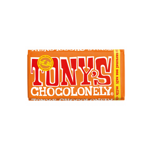 Tony's Chocolonely Milk Chocolate - Sea Salt + Caramel