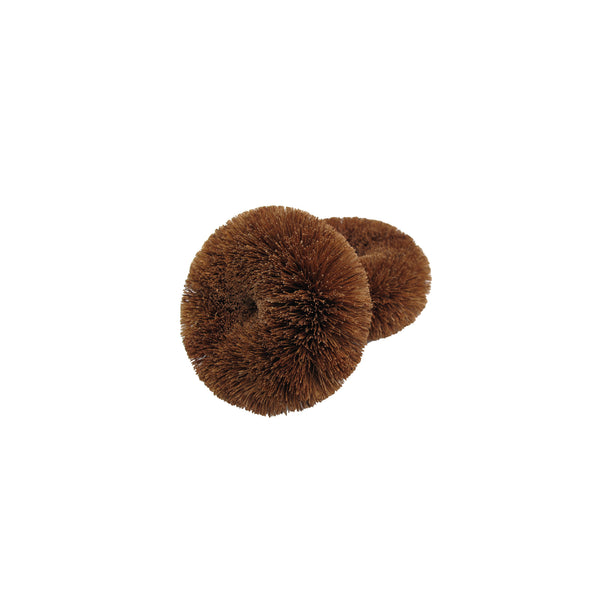 eco coconut coir kitchen and bathroom scourers