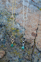 Load image into Gallery viewer, Green Onyx Lariat