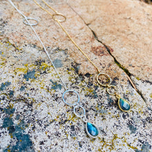 Load image into Gallery viewer, Labradorite Lariat