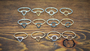 Small Shape Rings