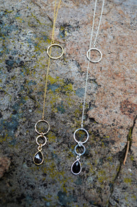 Smoky Quartz Lariat