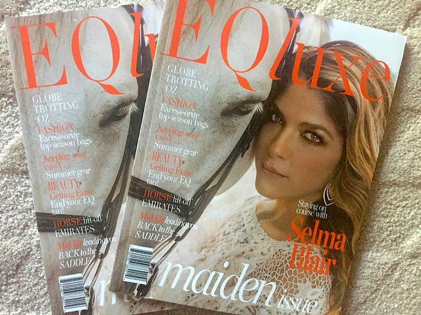 Maiden Issue of EqLuxe Features Donna B