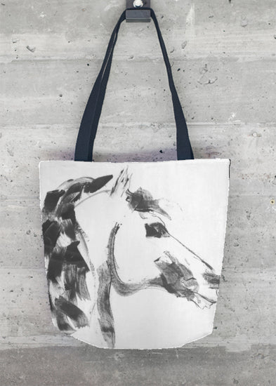 Equestrian Chic Tote Bag