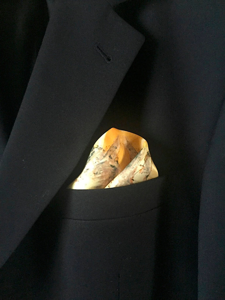Sun Stallion Pocket Square