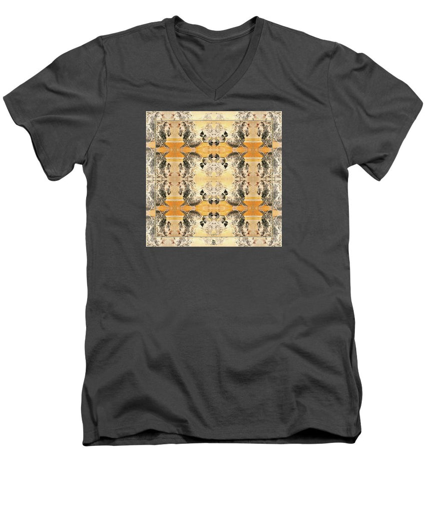 Sun Stallion - Men's V-Neck T-Shirt