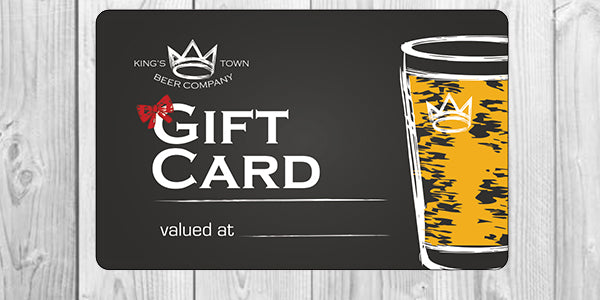 King's Town Gift Card