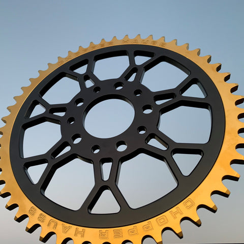 Upgraded Sprocket Gold Outer Ring