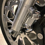"Caliper Relocation Brackets: 14"" for Baggers 2008-2015 & 2016-2020"