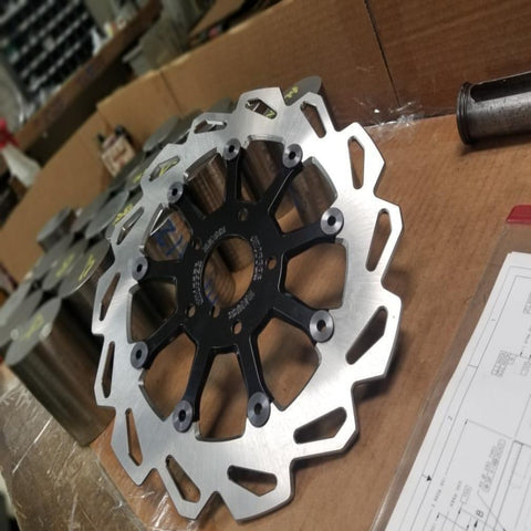 Rotor:  9 Spoke Floating