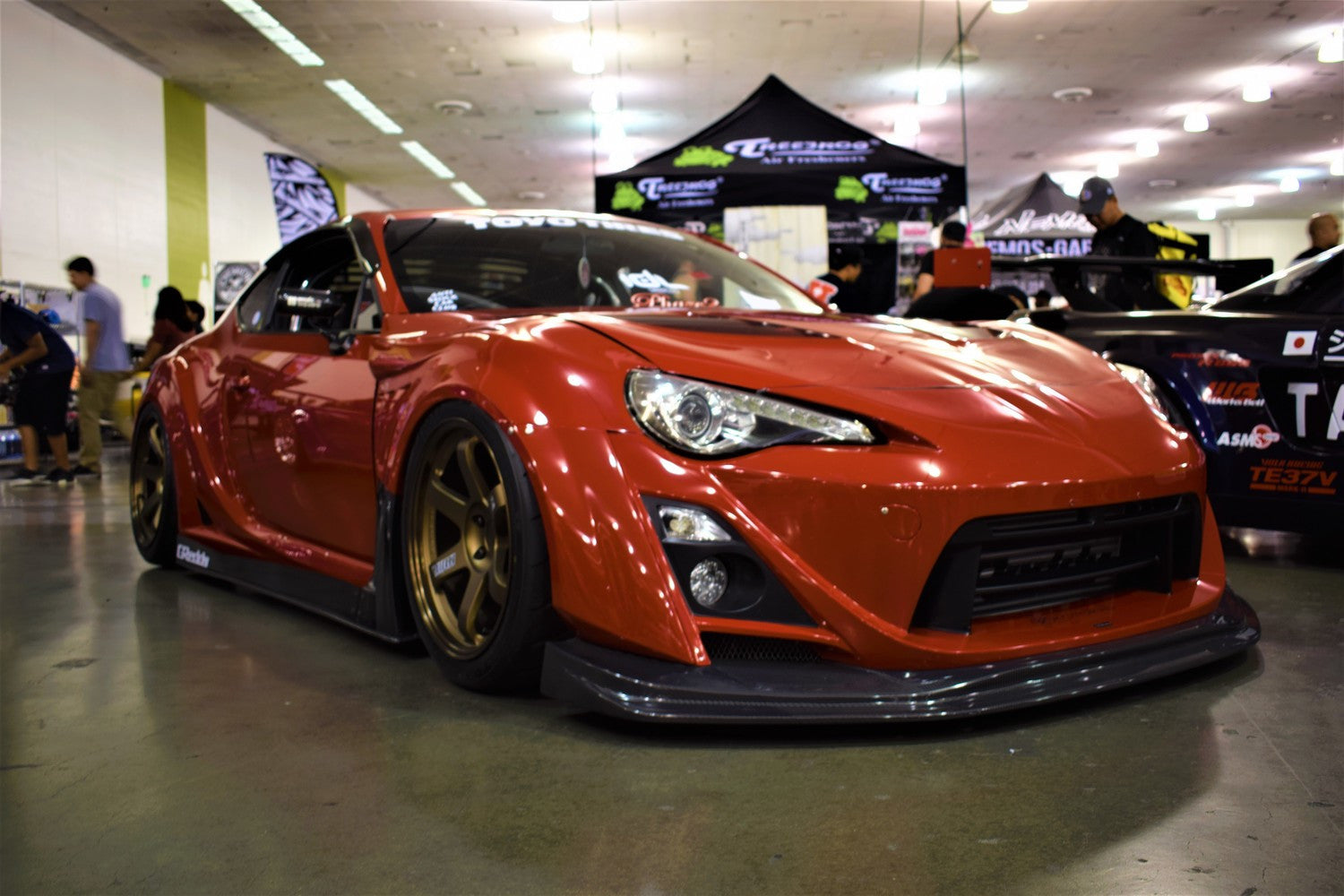red scion frs wekfest