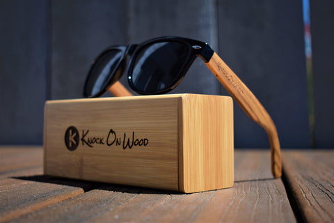 Wooden sunglasses that are durable