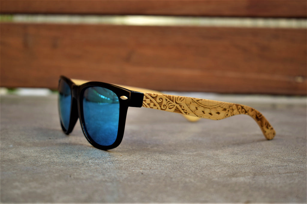 wooden design sunglasses