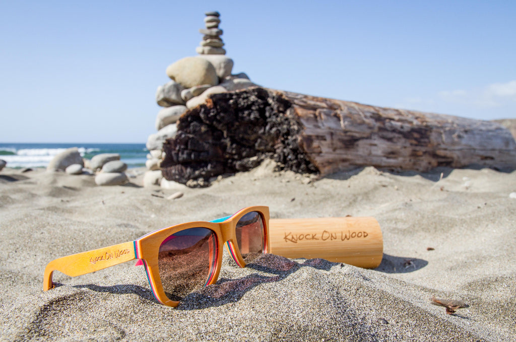 wooden knock on wood sunglasses