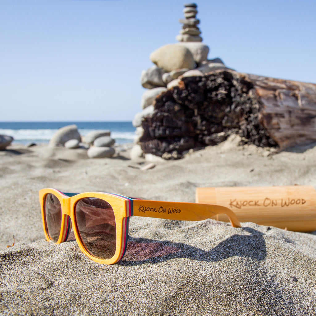 bamboo knock on wood sunglasses