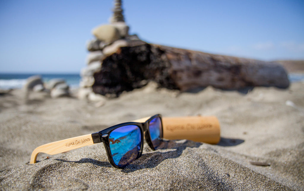 photophobia wooden sunglasses