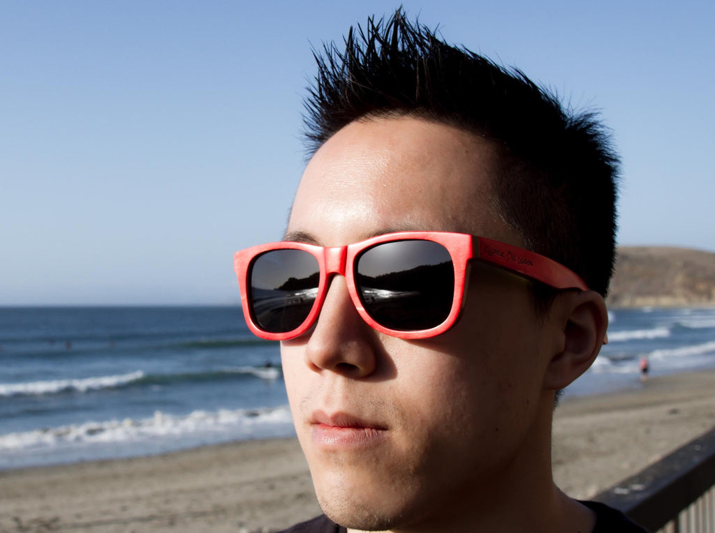 photophobia full wooden sunglasses for men