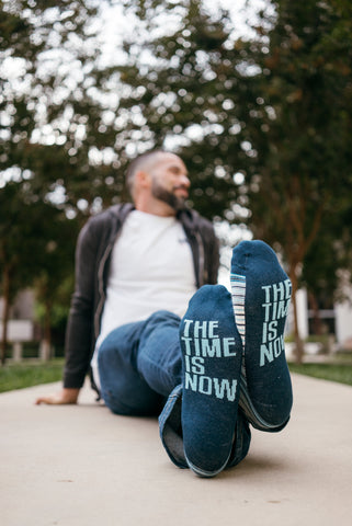 REWW/ The Time Is Now Socks