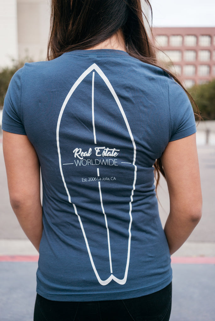 REWW Surfboard T-Shirt (Woman's)