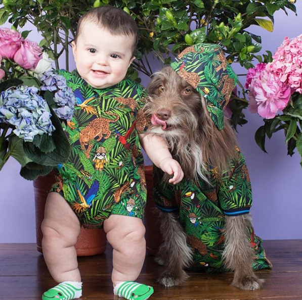 Dog and Man Matching Photos by Topher Brophy and Rosenberg The Dog by @thedogstyler