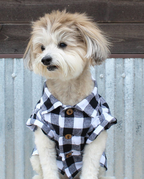 Fireside Flannel - Matching Sizes for Dogs + Humans