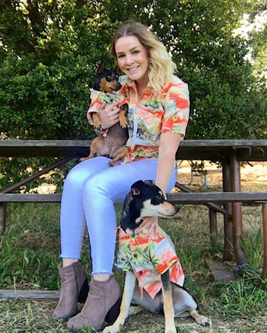 Après BBQ Shirt - Matching Sizes for Dogs + Humans