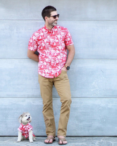 Matching Set - Red Haze BBQ Shirt