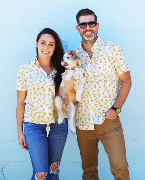Matching Set - Going Bananas BBQ Shirt