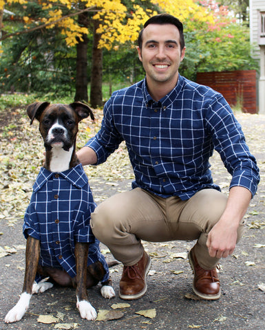 Matching Set - Metropolitan Plaid Shirt