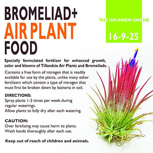 Air Plant Food and Fertilizer (8 oz PLUS Mister)