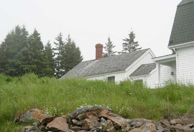 Marshal Point Lighthouse - keeper's house