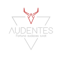 AUDENTES LEATHER LOGO