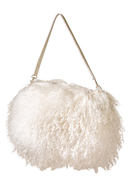 mongolian fur bag