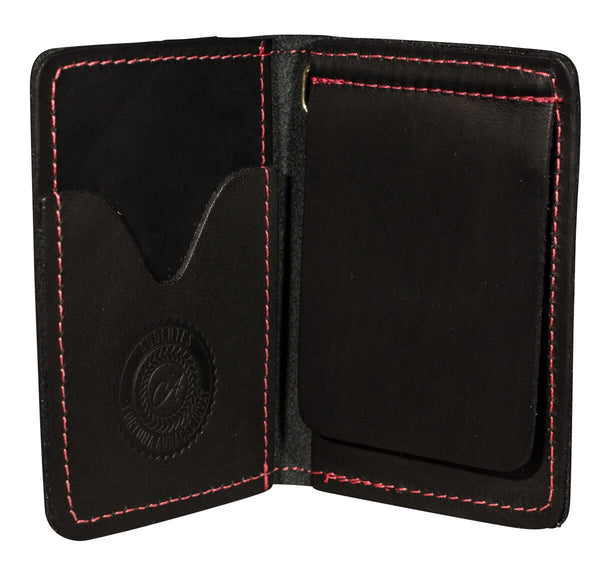 moneyclip wallet black matte