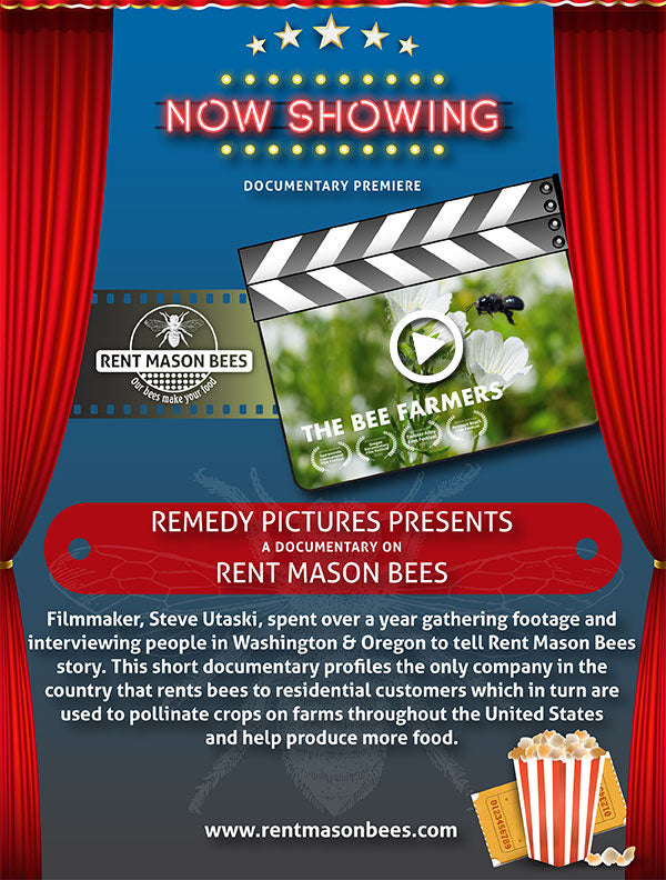 PREMIERE LAUNCH of Rent Mason Bees Short Film
