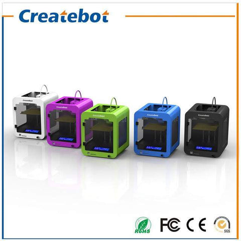 Createbot Super MINI 3D Printer, Brilliant Designs in 3D