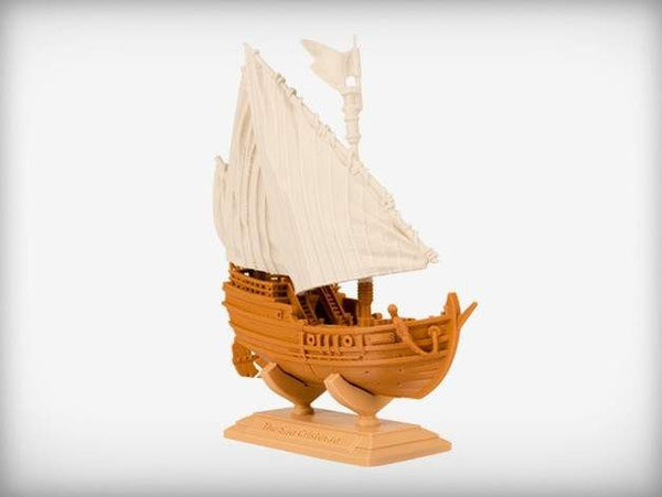 Famous Expeditions - The Sao Cristovao, Brilliant Designs in 3D