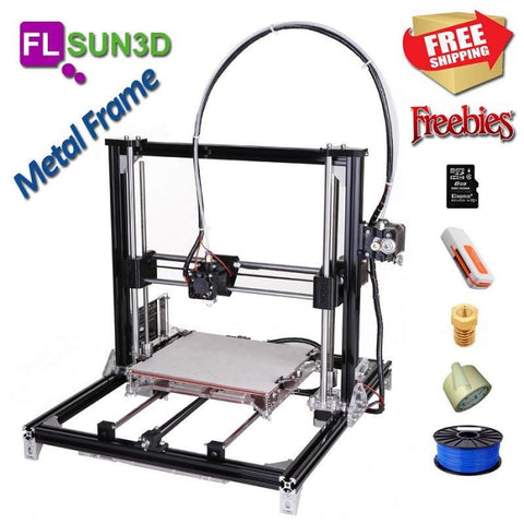 FLSUN 3D Metal Frame Prusa i3 DIY KIT, Brilliant Designs in 3D