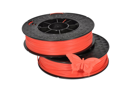 UP Fiery Coral ABS Filament 1.75mm, Brilliant Designs in 3D