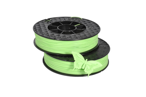 UP Spring Minty Green ABS Filament 1.75mm, Brilliant Designs in 3D