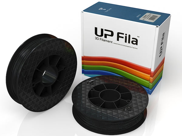 UP Black ABS+ Filament 1.75mm, Brilliant Designs in 3D