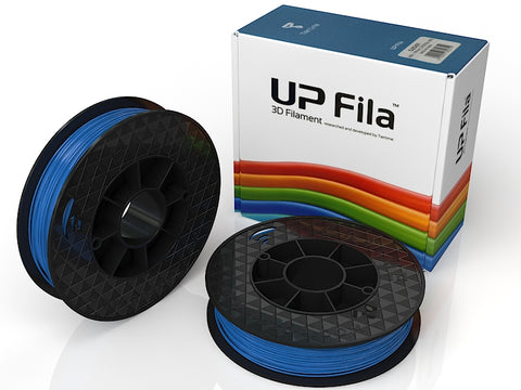UP Blue ABS+ Filament 1.75mm, Brilliant Designs in 3D