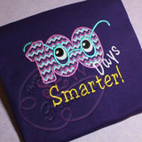 100 Days Smarter Applique Design