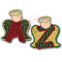 Angel Alpha Applique Set A-Z