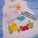 Just Bubbles Embellishment Embroidery Design