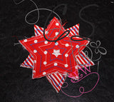 Build-A-Raggy 3D Applique Design set 3 : Chubby Stars