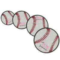 Baseball Softball Applique Design